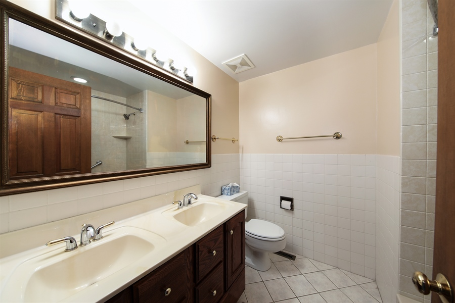 Real Estate Photography - 738 S Forest Dr, Barrington, IL, 60010 - 2nd Bathroom