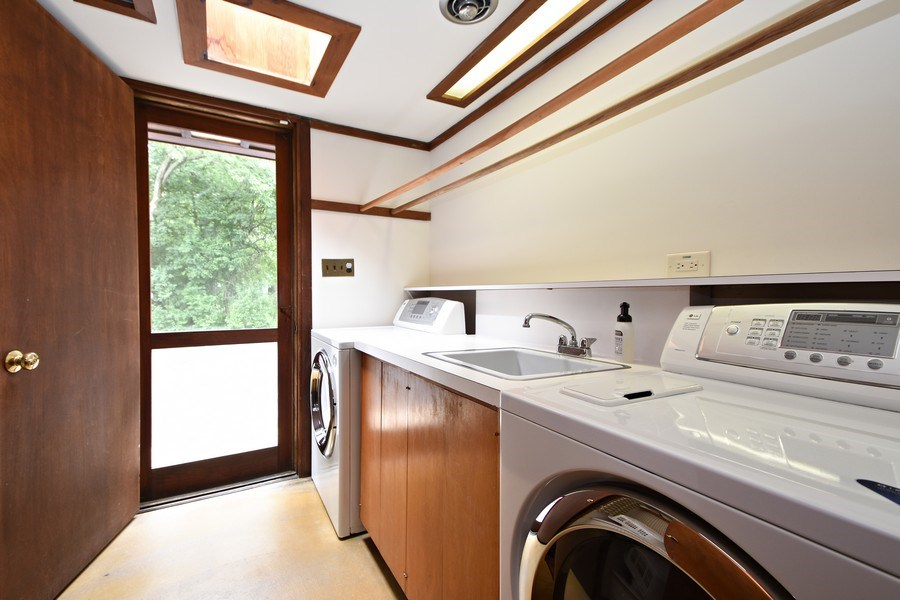 Real Estate Photography - 13 Graymoor Lane, Olympia Fields, IL, 60461 - Laundry Room