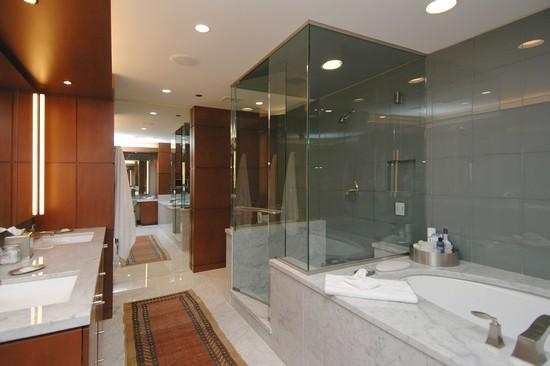 Real Estate Photography - 800 N Michigan, 4001, Chicago, IL, 60611 - Master Bathroom