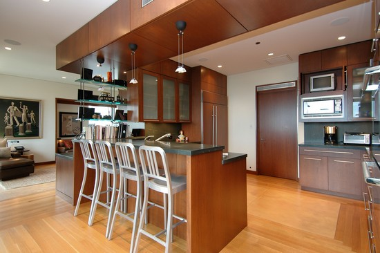 Real Estate Photography - 800 N Michigan, 4001, Chicago, IL, 60611 - Kitchen