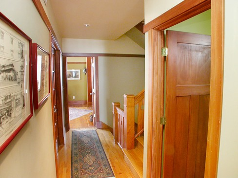 Real Estate Photography - 4315 Hazel, Chicago, IL, 60613 - 2nd Floor Corridor