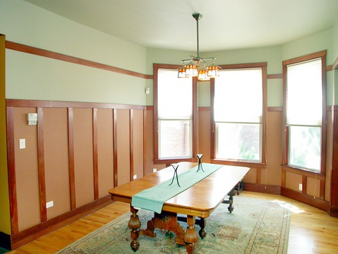 Real Estate Photography - 4315 Hazel, Chicago, IL, 60613 - Dining Room