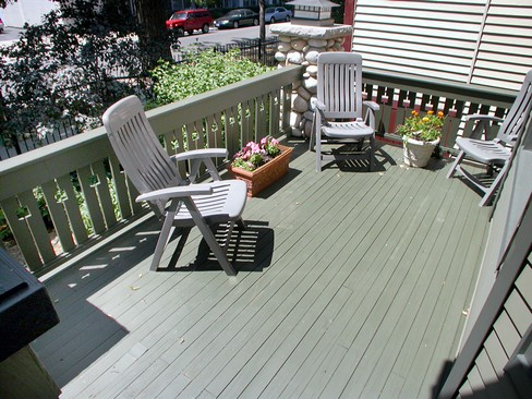Real Estate Photography - 4315 Hazel, Chicago, IL, 60613 - Porch