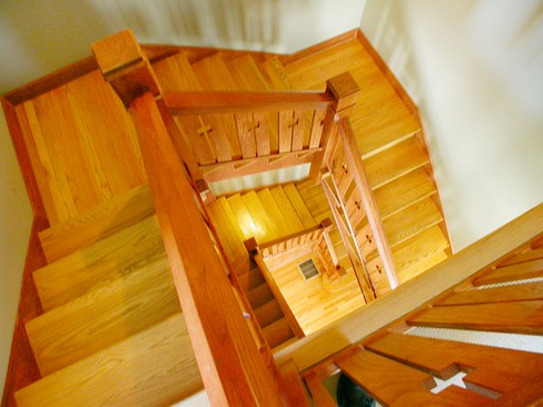 Real Estate Photography - 4315 Hazel, Chicago, IL, 60613 - Staircase