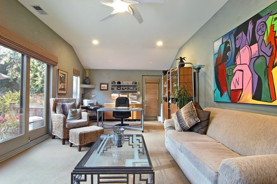 Real Estate Photography - 254 Red Oak Ln, Highland Park, IL, 60035 - Den