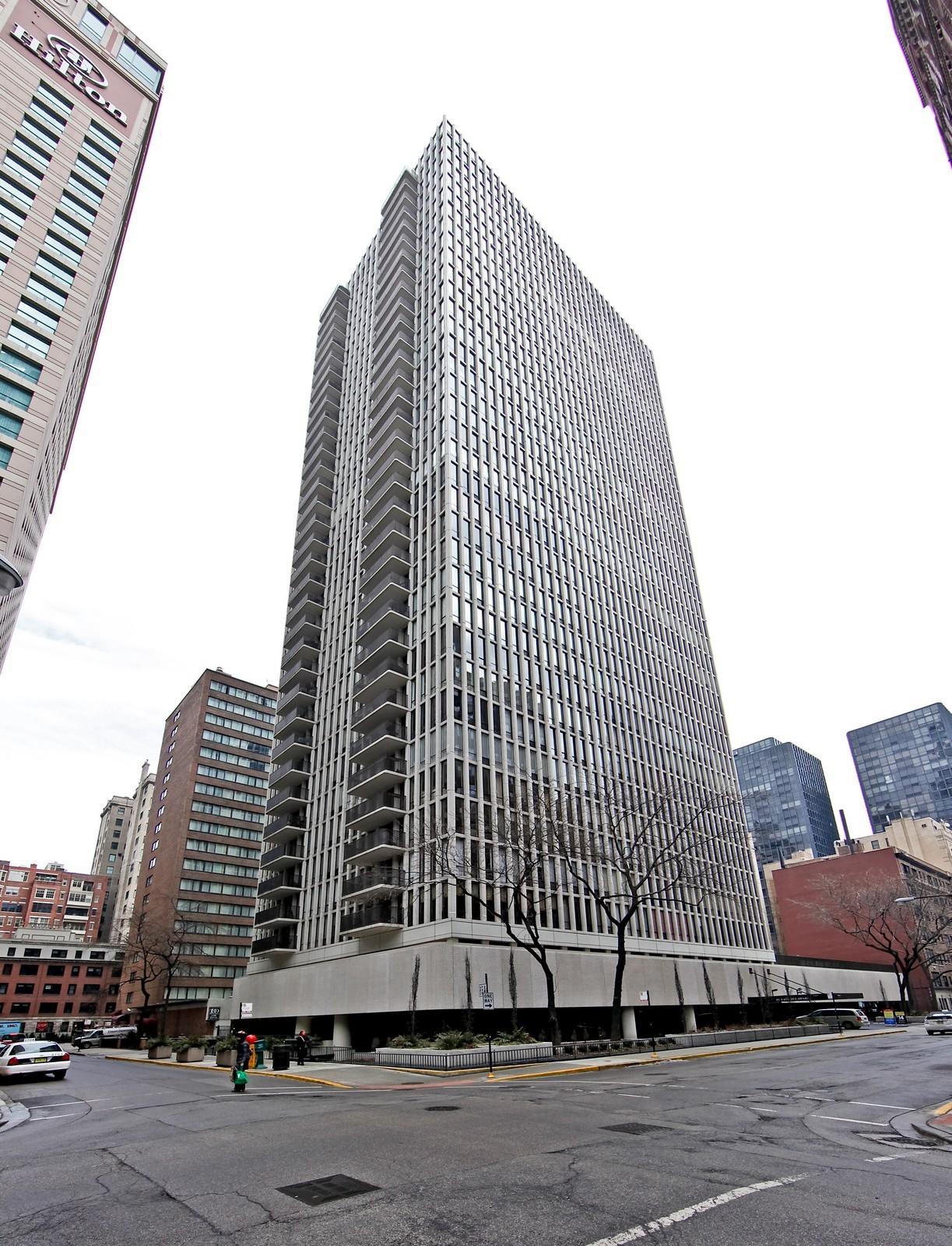 Real Estate Photography - 200 E Delaware Pl, 25F, Chicago, IL, 60611 - Front View