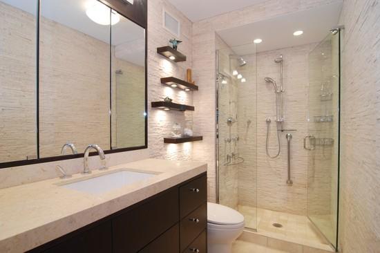 Real Estate Photography - 200 E Delaware Pl, 25F, Chicago, IL, 60611 - Master Bathroom