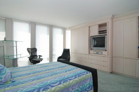 Real Estate Photography - 200 E Delaware Pl, 25F, Chicago, IL, 60611 - Master Bedroom