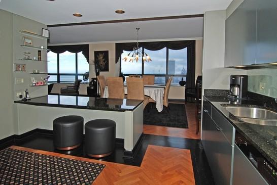 Real Estate Photography - 180 E Pearson St, 7106, Chicago, IL, 60611 - Kitchen