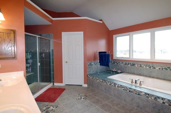 Real Estate Photography - 471 Sterling, South Elgin, IL, 60177 - Master Bathroom