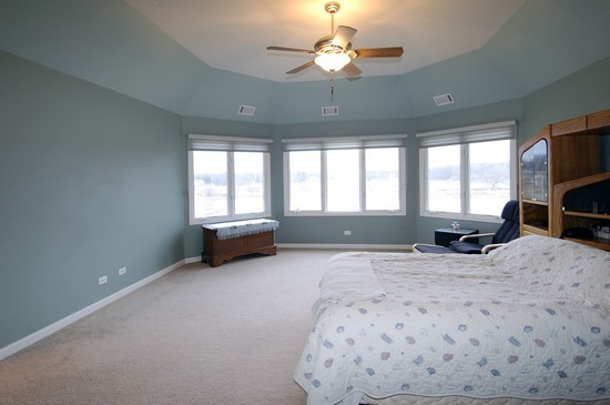 Real Estate Photography - 471 Sterling, South Elgin, IL, 60177 - Master Bedroom