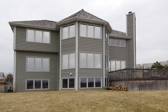 Real Estate Photography - 471 Sterling, South Elgin, IL, 60177 - Rear View