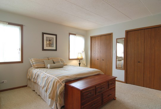 Real Estate Photography - 468 President, Carol Stream, IL, 60188 - Master Bedroom