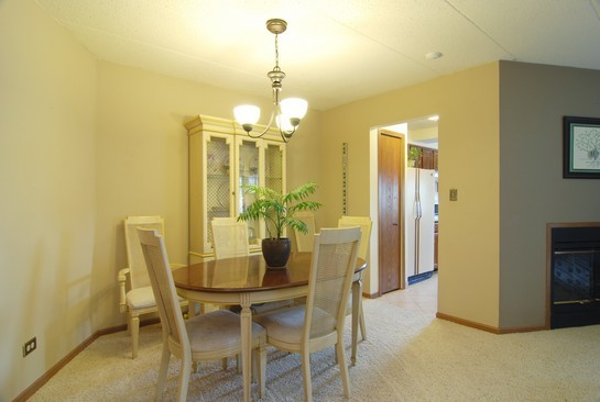 Real Estate Photography - 468 President, Carol Stream, IL, 60188 - Dining Room