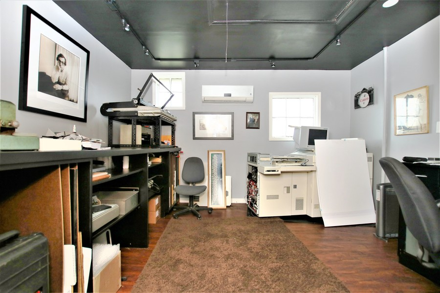 Real Estate Photography - 214 Oregon Avenue, West Dundee, IL, 60118 - Studio/Dark Room/Carriage House off Patio Area