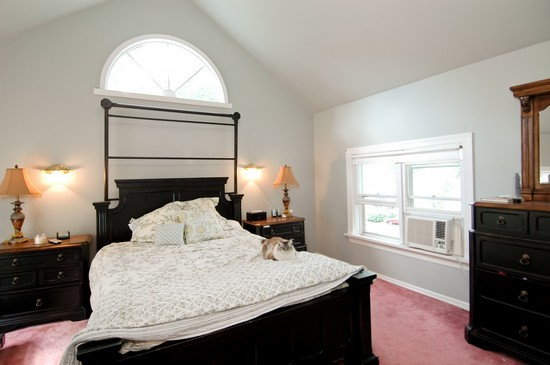 Real Estate Photography - 214 Oregon Avenue, West Dundee, IL, 60118 - Master Bedroom
