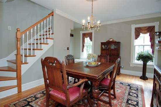 Real Estate Photography - 214 Oregon Avenue, West Dundee, IL, 60118 - Dining Room