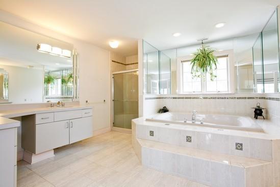 Real Estate Photography - 9425 Madison, Burr Ridge, IL, 60527 - Master Bathroom