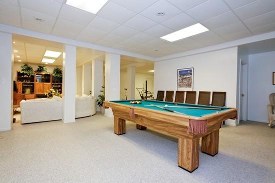 Real Estate Photography - 9425 Madison, Burr Ridge, IL, 60527 - Recreational Room