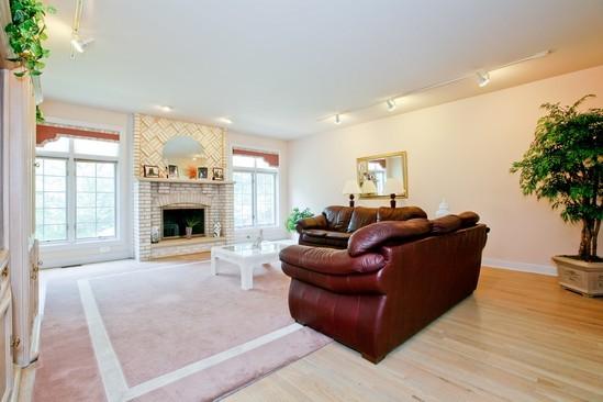 Real Estate Photography - 9425 Madison, Burr Ridge, IL, 60527 - Family Room