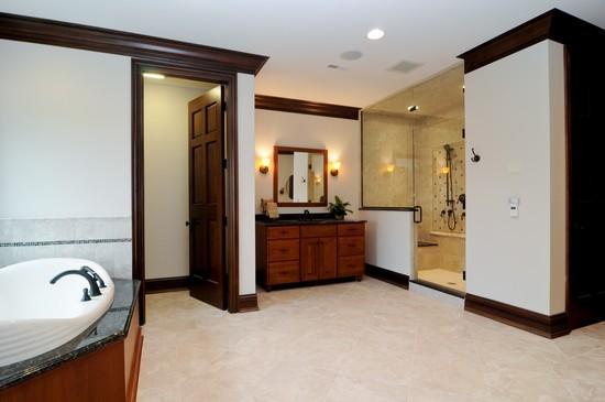 Real Estate Photography - 101 Countyline Rd, Barrington Hills, IL, 60010 - Master Bathroom