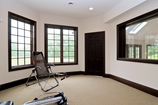 Real Estate Photography - 101 Countyline Rd, Barrington Hills, IL, 60010 - Exercise Room