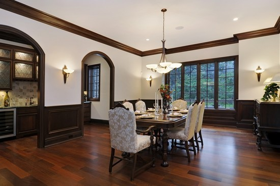 Real Estate Photography - 101 Countyline Rd, Barrington Hills, IL, 60010 - Dining Room