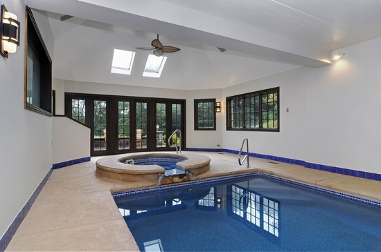 Real Estate Photography - 101 Countyline Rd, Barrington Hills, IL, 60010 - Pool