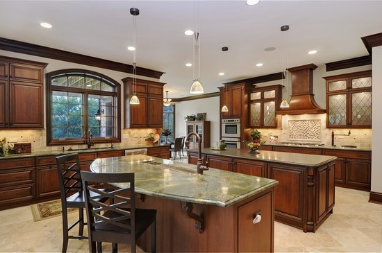 Real Estate Photography - 101 Countyline Rd, Barrington Hills, IL, 60010 - Kitchen