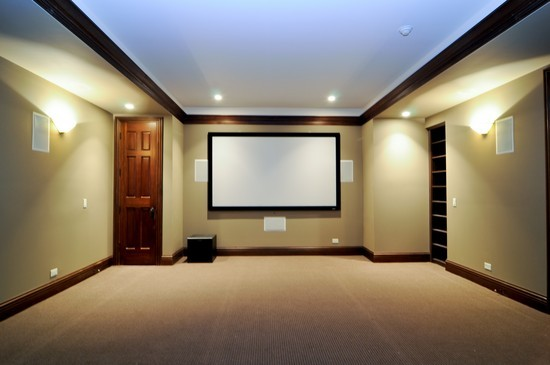 Real Estate Photography - 101 Countyline Rd, Barrington Hills, IL, 60010 - Theater