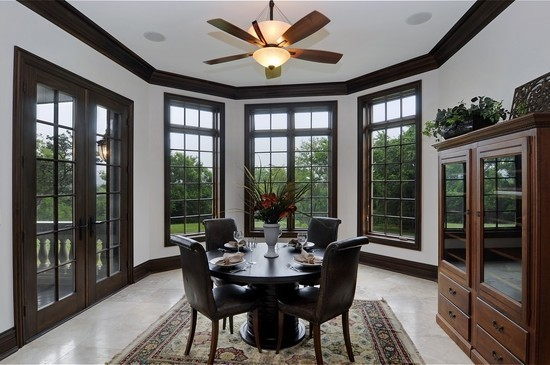 Real Estate Photography - 101 Countyline Rd, Barrington Hills, IL, 60010 - Breakfast Room