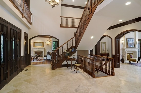 Real Estate Photography - 101 Countyline Rd, Barrington Hills, IL, 60010 - Foyer