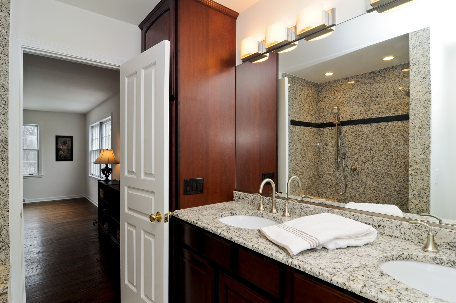 Real Estate Photography - 427 County Line Rd, Barrington Hills, IL, 60010 - Master Bathroom