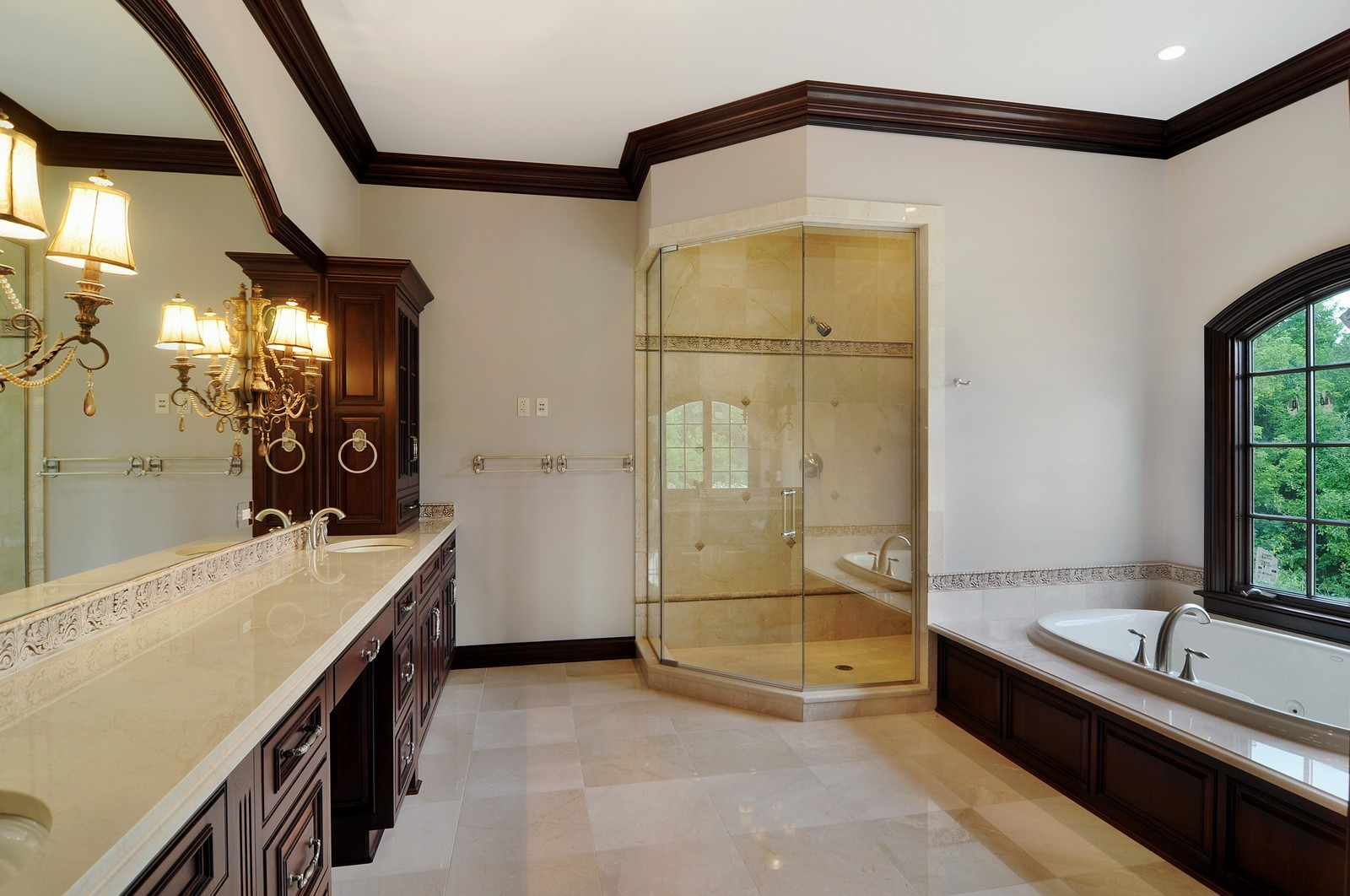 Real Estate Photography - 273 Donlea Rd, Barrington Hills, IL, 60010 - Master Bathroom