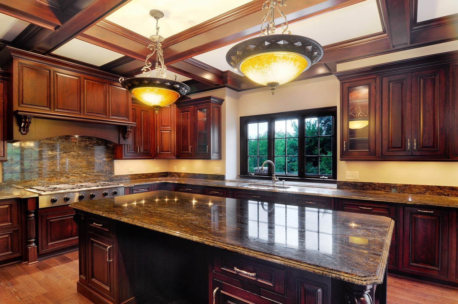 Real Estate Photography - 273 Donlea Rd, Barrington Hills, IL, 60010 - Kitchen