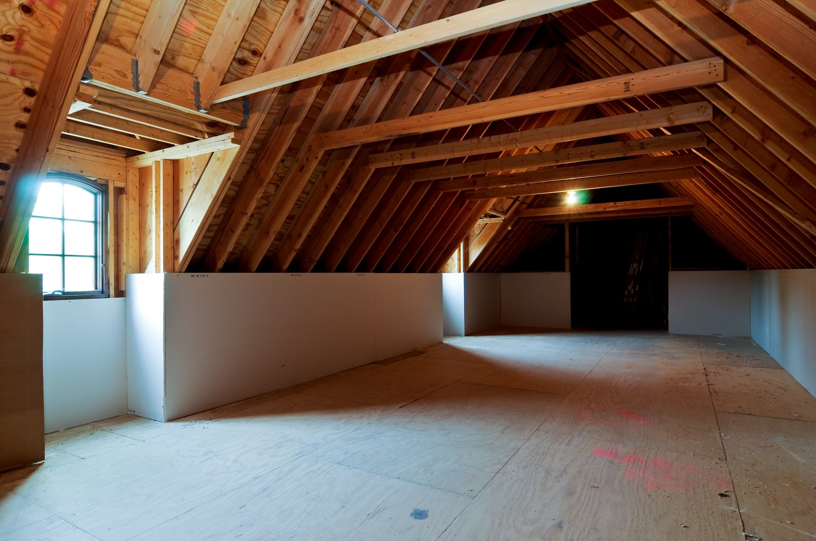 Real Estate Photography - 273 Donlea Rd, Barrington Hills, IL, 60010 - Attic
