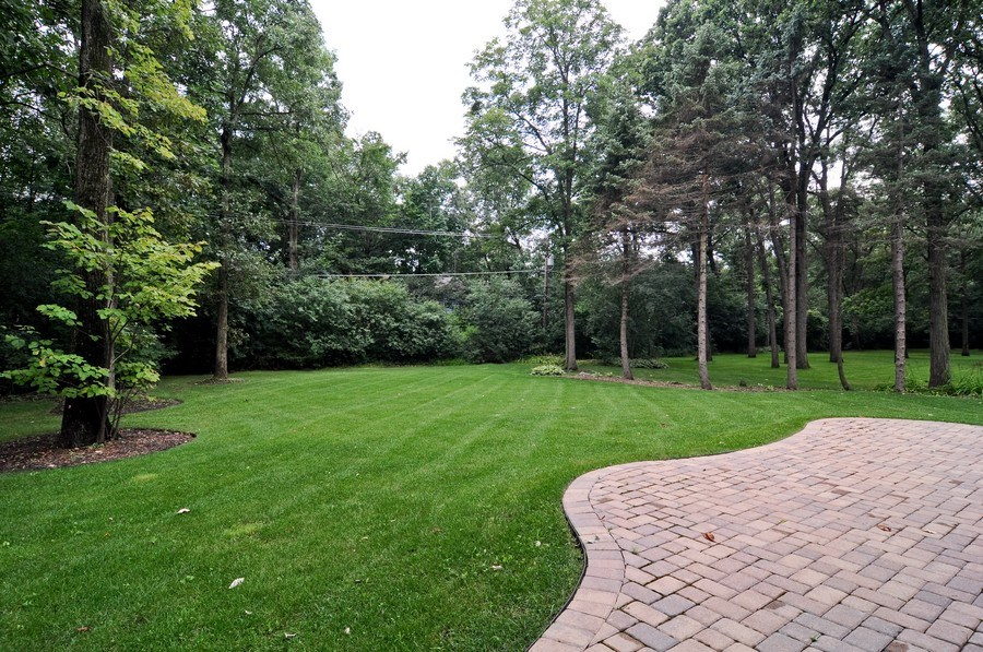 Real Estate Photography - 17 North Portshire Dr, Lincolnshire, IL, 60069 - Back Yard