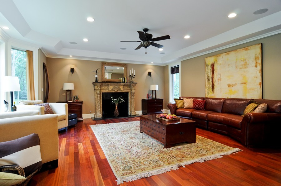 Real Estate Photography - 17 North Portshire Dr, Lincolnshire, IL, 60069 - Family Room