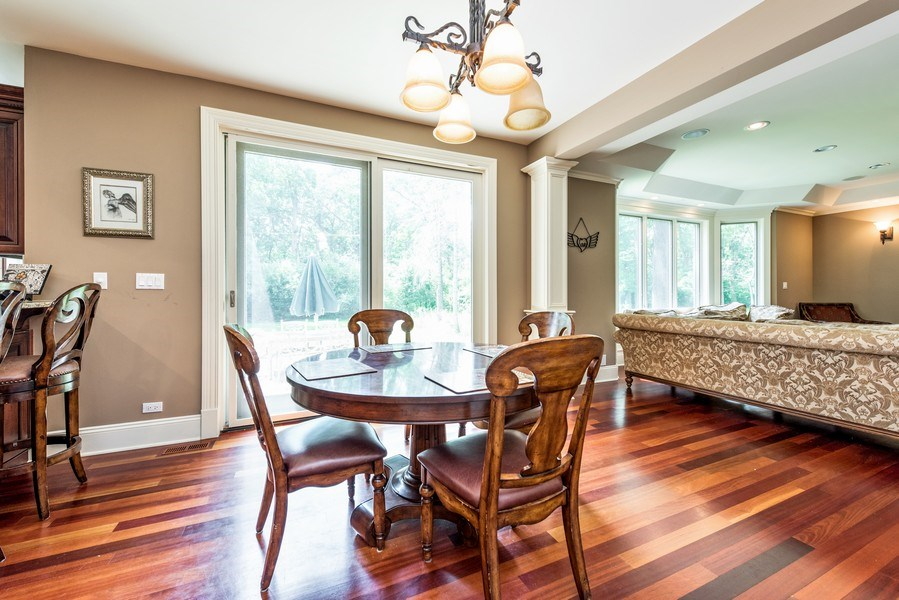 Real Estate Photography - 17 North Portshire Dr, Lincolnshire, IL, 60069 - Breakfast Area