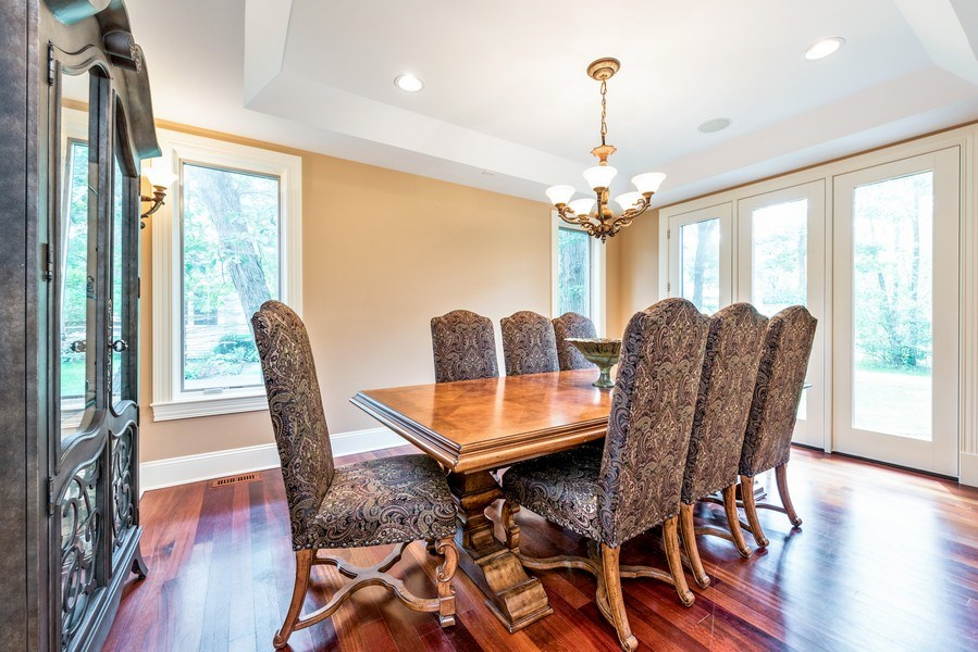 Real Estate Photography - 17 North Portshire Dr, Lincolnshire, IL, 60069 - Dining Area