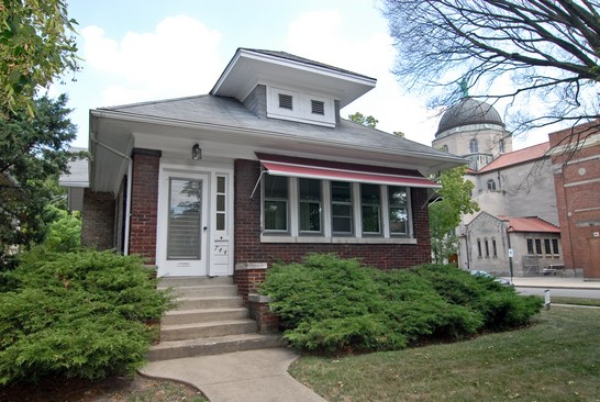 Front View photograph of 744 Clarence Oak Park Illinois 60304