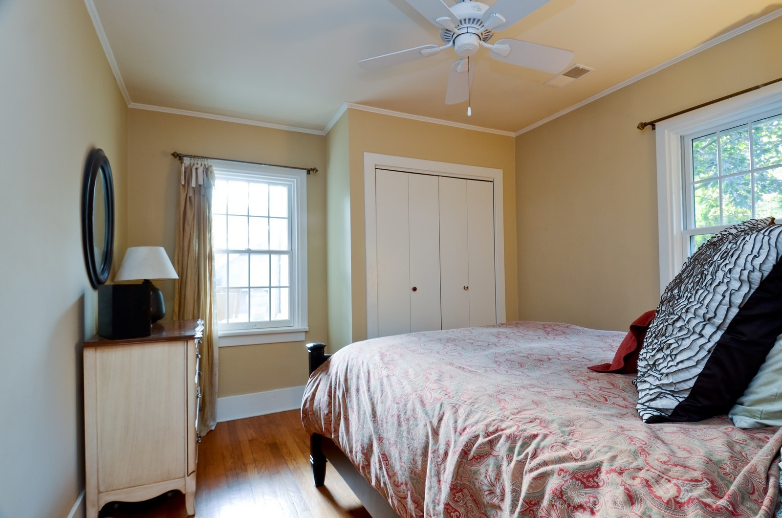 Real Estate Photography - 1124 Webster Ave, Wheaton, IL, 60187 - Master Bedroom