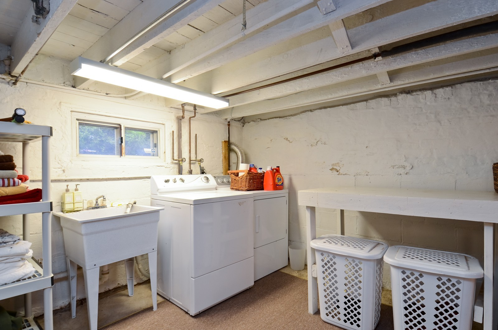 Real Estate Photography - 1124 Webster Ave, Wheaton, IL, 60187 - Laundry Room