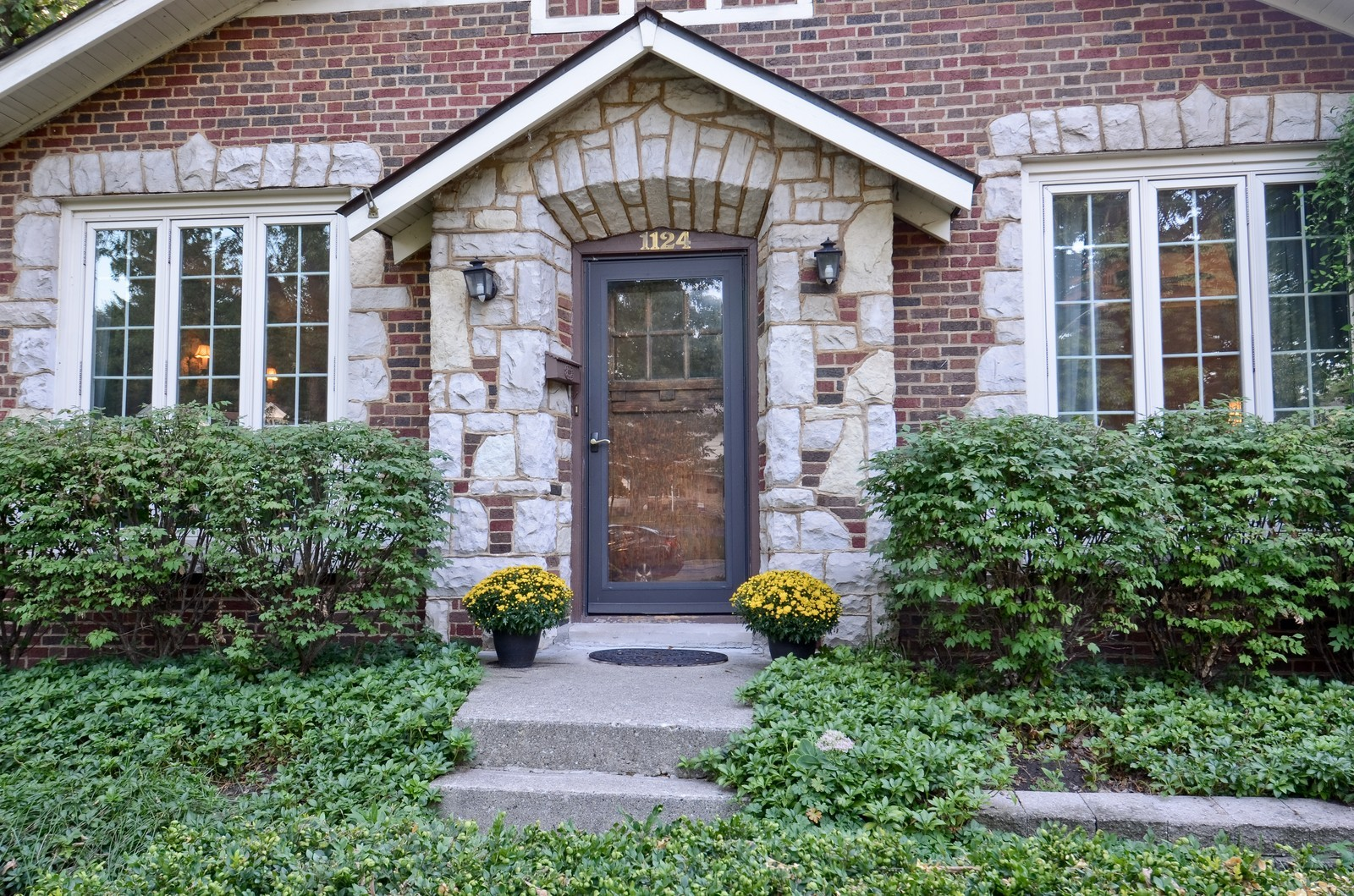 Real Estate Photography - 1124 Webster Ave, Wheaton, IL, 60187 - Front view