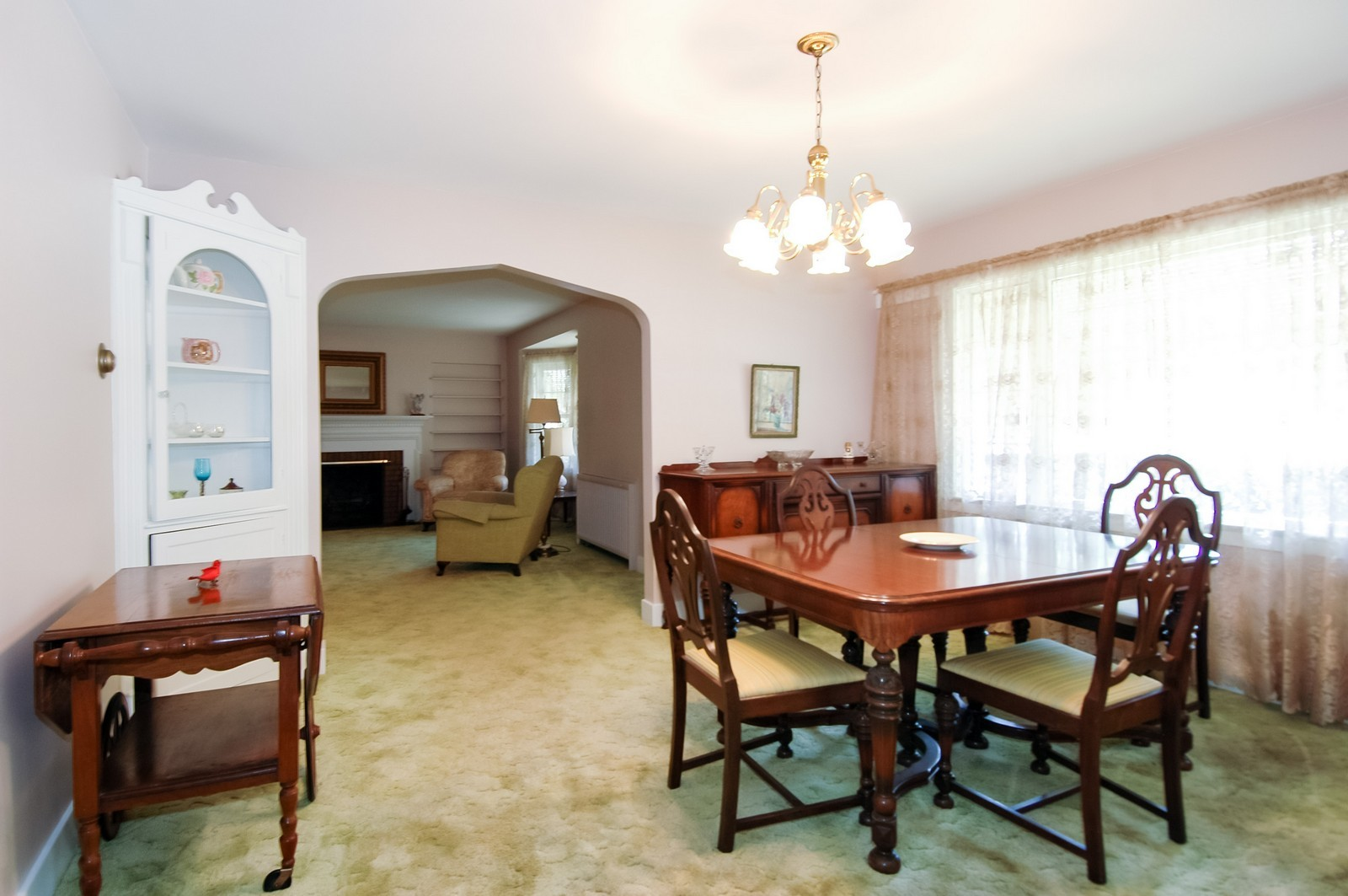 Real Estate Photography - 302 Washington, Algonquin, IL, 60102 - Dining Room