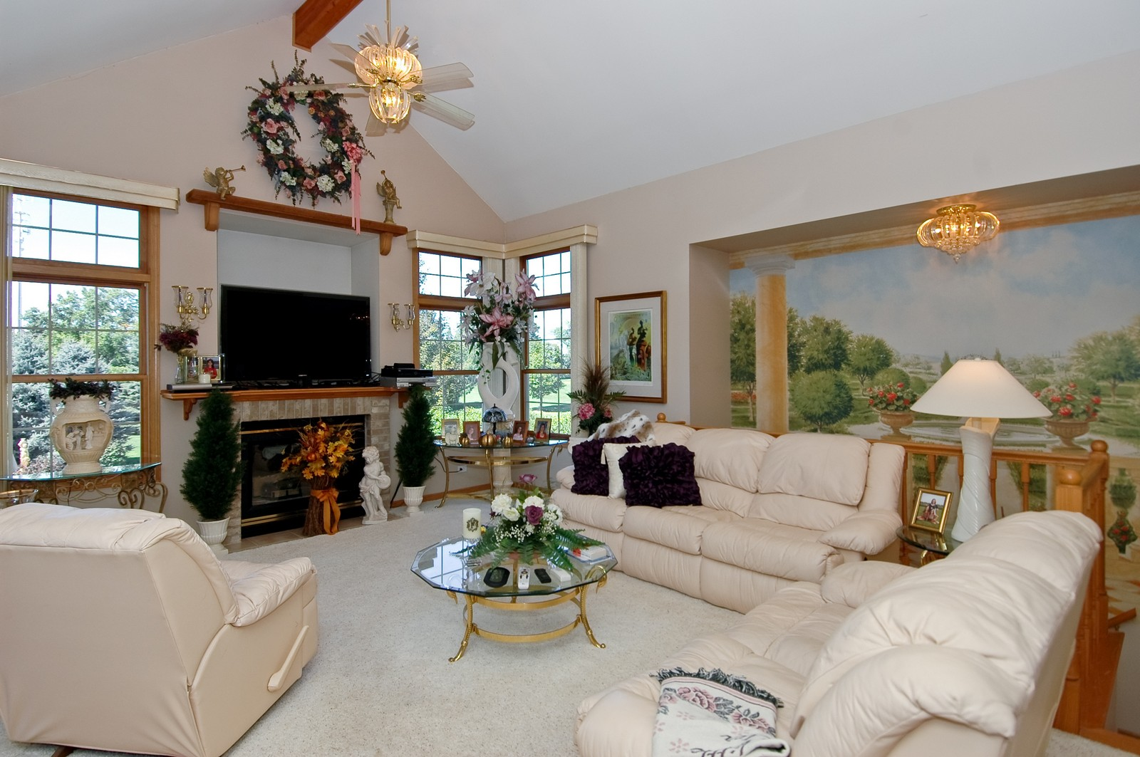 Real Estate Photography - 5307 Autumn Way, Johnsburg, IL, 60051 - Living Room