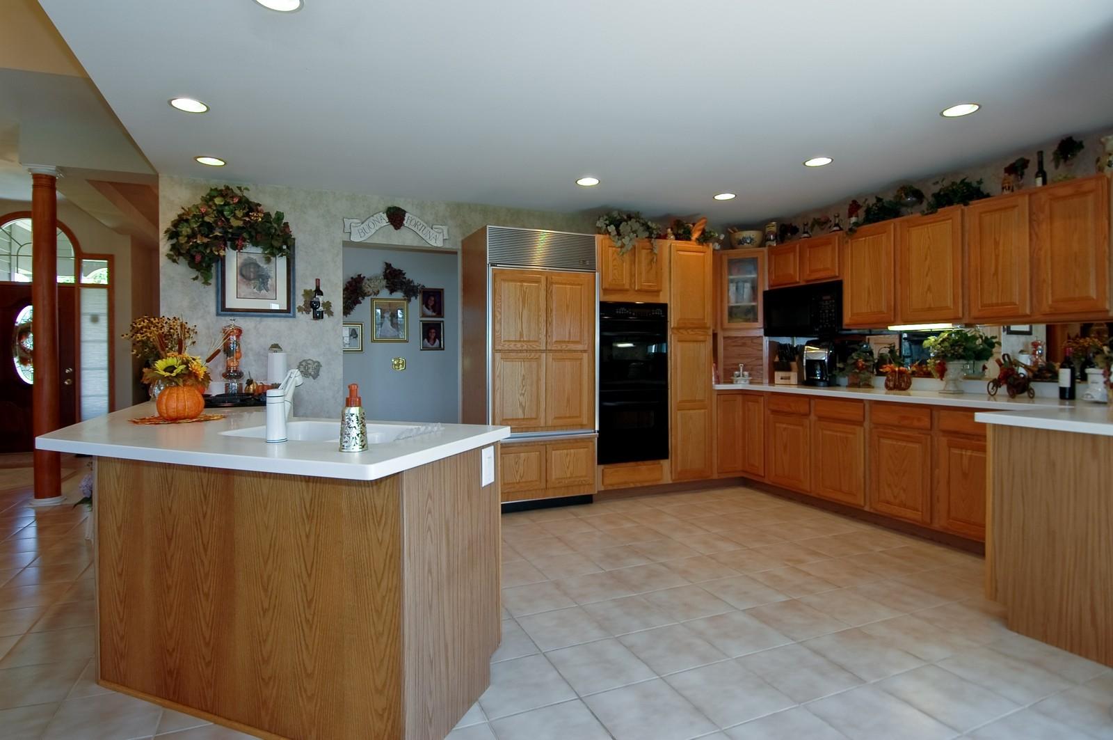 Real Estate Photography - 5307 Autumn Way, Johnsburg, IL, 60051 - Kitchen