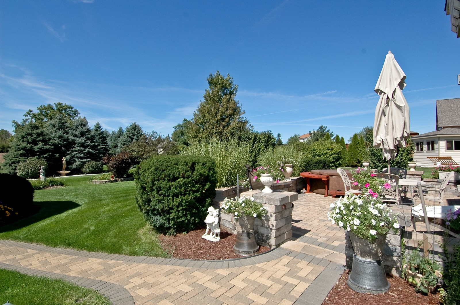 Real Estate Photography - 5307 Autumn Way, Johnsburg, IL, 60051 - Patio