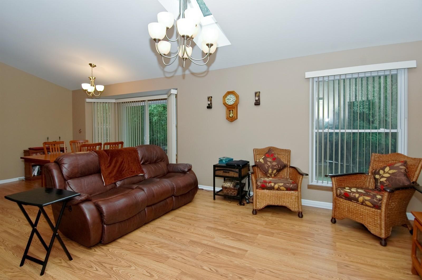 Real Estate Photography - 4029 Hale Ln, Island Lake, IL, 60042 - Living Room