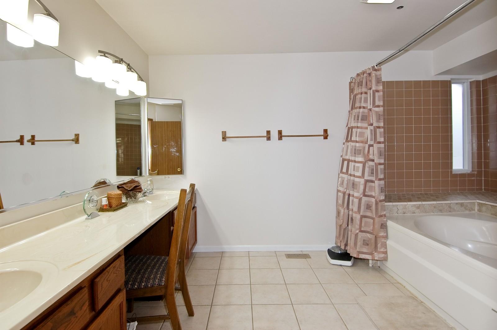 Real Estate Photography - 4029 Hale Ln, Island Lake, IL, 60042 - Master Bathroom